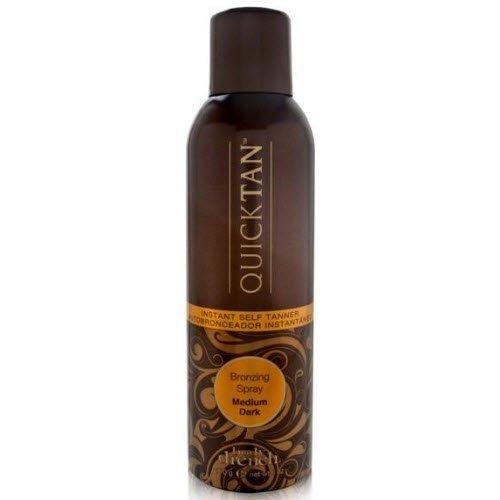 Self Tan Spray - Body Drench Quick Tan Instant Self-Tanner/Bronzing Spray - Medium/Dark, 6 Fl Oz