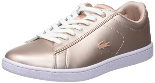 7f8 Evo Carnaby Zapatillas Para Rosa Spw wht 118 Mujer 7 Lacoste nat FHPxw