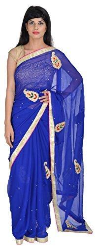 tanishq-designers-chiffon-saree-td004-blue