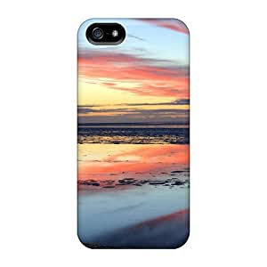 New Premium Flip Case Cover Candyfloss Skin Case For Iphone 5/5s