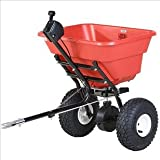 EarthWay 2050TP EV-N-SPRED 80lb Ice Melt Sand Salt Snow De-Icers Seed Estate Tow Broadcast Spreader