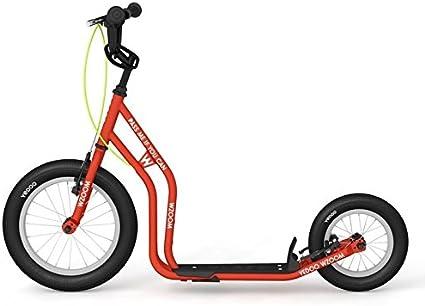 yedoo New wzoom Naranja | Niños Roller con neumáticos de aire a partir de 6años | Kick Patinete para Kids | Roller