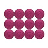 Velocity Lacrosse Balls: 12 Balls - Pink