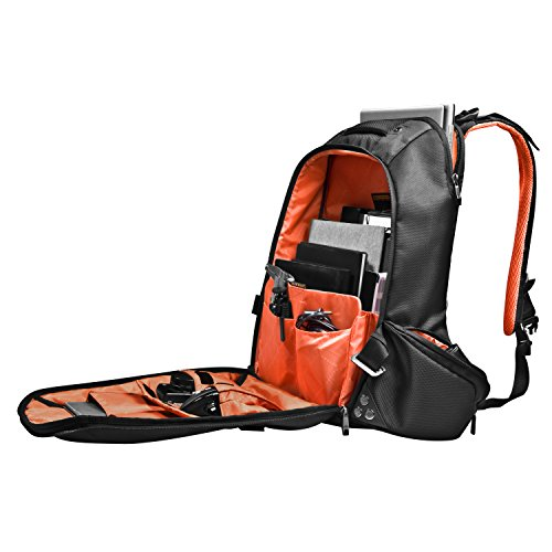 Everki Beacon Laptop Backpack with Gaming Console Sleeve, Fits up to 18-Inch (EKP117NBKCT) by Everki (Image #1)