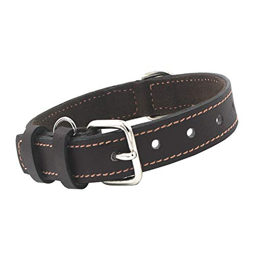 - The Leather Kings Leather Dog Collar | Neck 14