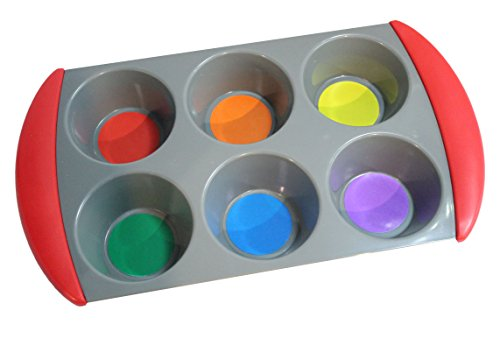 Color Sorting Tray for Preschool and Early Childhood