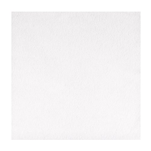 Linen Feel Cloth Like Dinner Napkins Disposable – 1000 Count – 16″ x 16″ Flat Lay – White – Paterson Paper