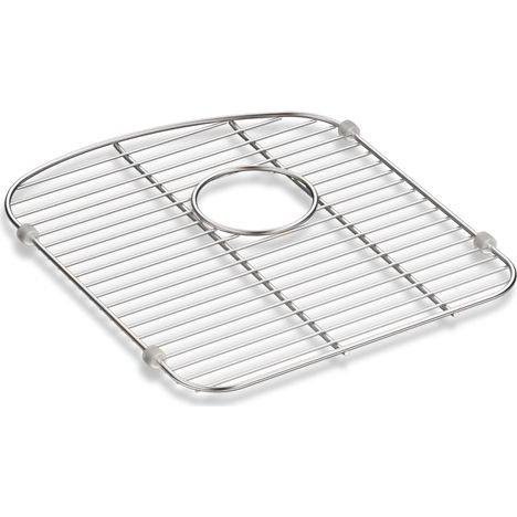 Kohler Bowl (Kohler Langlade Smart Divide Stainless Steel Sink Rack for Left-Hand Bowl)