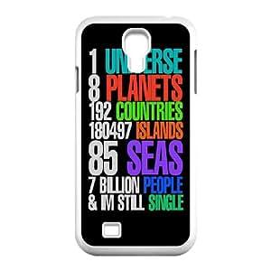 Samsung Galaxy S4 9500 Cell Phone Case White_one universe still single (1) Rbxni