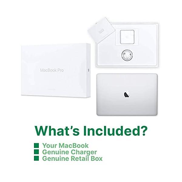 "Apple MacBook Pro   13.3""   2.4GHZ Quad Core i5   8GB RAM   512GB SSD   Silver   2019   (Renewed) 5"