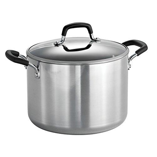 Tramontina 8 Qt. Aluminum Nonstick Stock Pot with Lid
