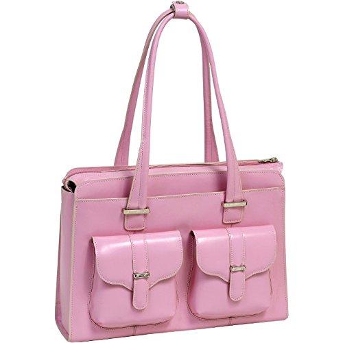 McKleinUSA ALEXIS 96549 Pink Leather Ladies' (Pink Italian Briefcase)
