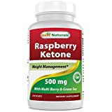 Best Naturals - Raspberry Ketone plus 500 mg 120 Capsules