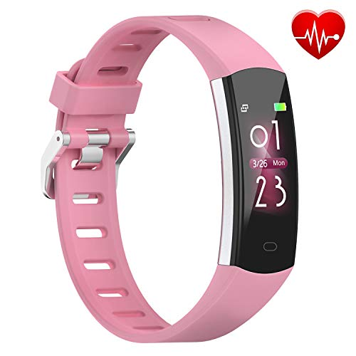 BingoFit 905HR Fitness Activity Tracker, Slim Wearable Water Resistant and Sleep Monitor, Wireless...