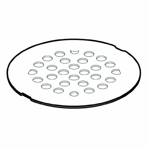 Moen 101664WR Kingsley 4-1/4-Inch Screw-In Shower Strainer, Wrought Iron by Moen ()