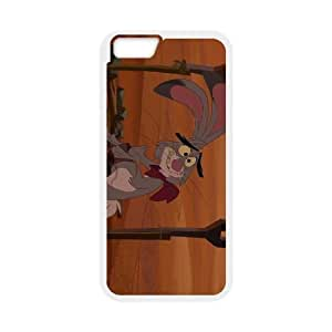 iPhone 6 Plus 5.5 Inch Cell Phone Case White Disney Home on the Range Character Lucky Jack 006 JSY4190488KSL