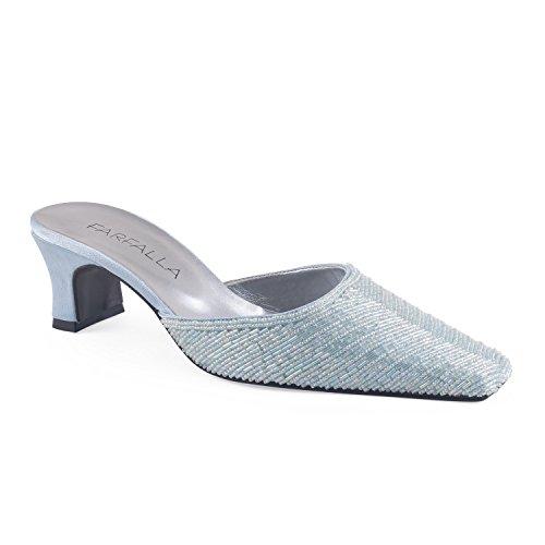 FARFALLA - Sandalias de vestir para mujer azul claro