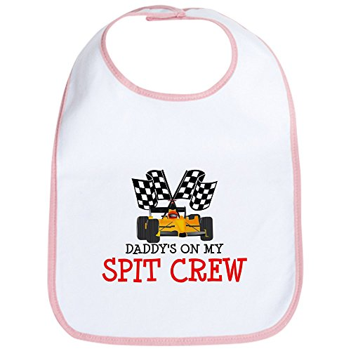 CafePress Daddy's On My Spit Crew Bib Cute Cloth Baby Bib, Toddler Bib