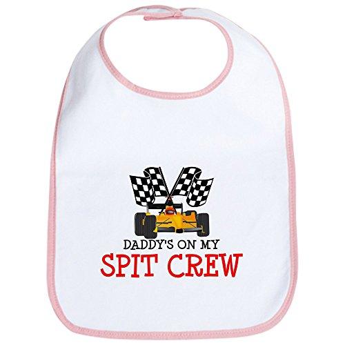 CafePress - Daddy's On My Spit Crew - Cute Cloth Baby Bib, Toddler Bib