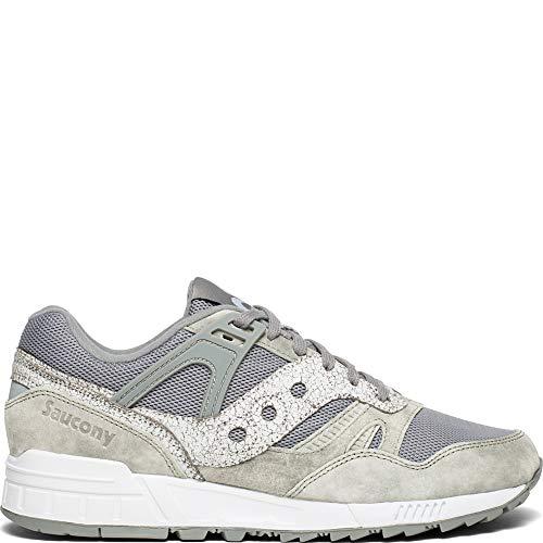 Grigio Camoscio Laterale Tessuto Bicolore Gomma Para Sneaker Tecnico E Logo Con In Saucony w67ZqHInI