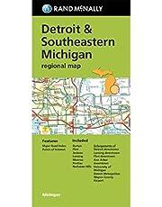 Rand McNally Folded Map: Detroit and Southeastern Michigan Regional Map