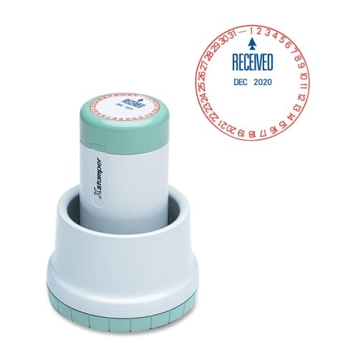 XST22602 - Xstamper XpeDater Pre-Inked Rotary RECEIVED Message/Date (Xstamper Date Stamp)