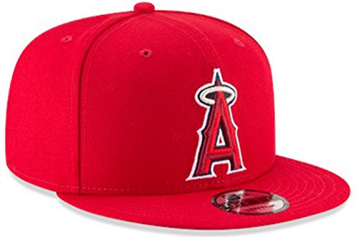 - New Era Authentic Angels Red 9Fifty Snapback OSFM Hat Cap- Adjustable