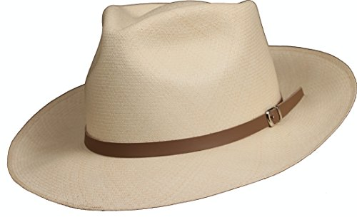 8e92e3bd3 Leather Panama Hat Band (Tan)