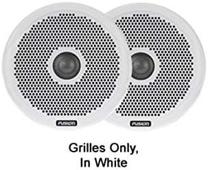 Fusion Pair 4 Inch Grille White Garmin 010-01645-00 Ms-FR4GW