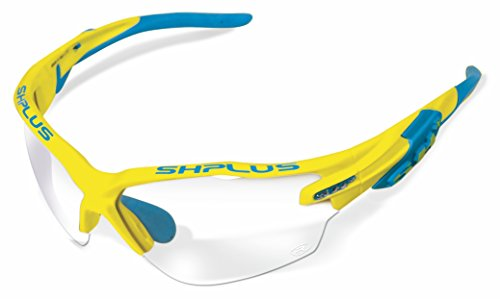 SH + RG 5000Reactive, lunettes Mixte adulte M Giallo Blu/Photocromic Lens