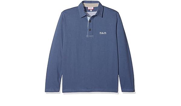 neck & neck 17I08202.22 Polo, Azul Medio, 4 años (Tamaño del ...