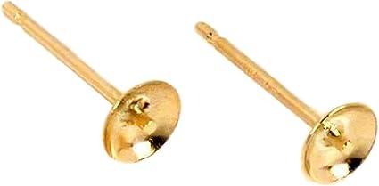 10x 925 Sterling Silver Blank Ear Studs Pin Earrings Posts Flat Pad 3mm