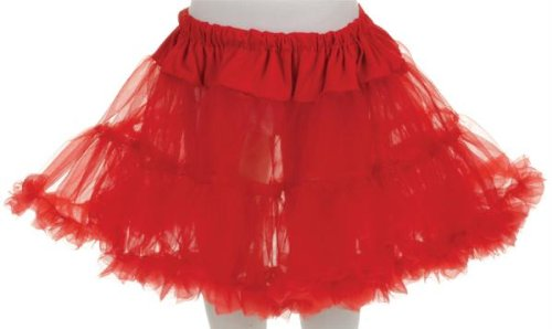 Little Girls Tutu Skirt (Halloween Red Riding Hood Diy)