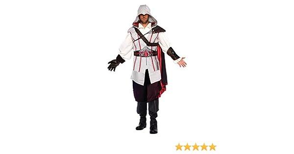 Disfraz deluxe Ezio Auditore de Assassins Creed II de Ubisoft