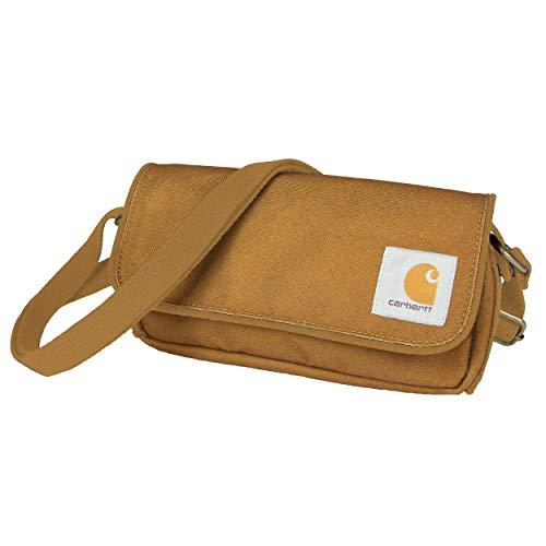 Carhartt Legacy Women's Essentials Crossbody Bag and Waist Pouch, Carhartt Brown by Carhartt
