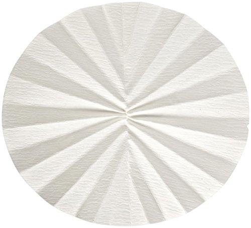 Whatman 1213-185 Quantitative Folded Filter Paper, 30 Micron, Grade 113V, 185mm Diameter (Pack of 100) by Whatman