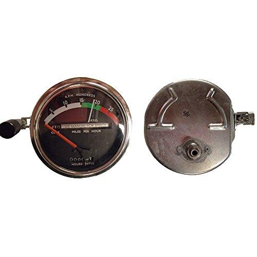 (RE206855 for John Deere Tachometer w/Red Needle 3010 4000 4010 4020 4320 4520 +)