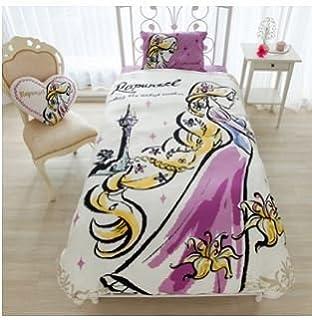 Charmant Disney Rapunzel Duvet Cover, Sheets, Pillow Case Three Piece Set Single