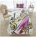 Disney Rapunzel duvet cover, sheets, pillow case three-piece set single