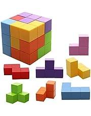 Welltop Magnetiska leksaker magiska kuber magnetblock för barn magnetiska byggstenar tegelstenar leksak för vuxna, stressavlastning, pedagogiska pussel