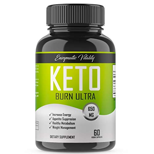 Vegan Keto Burn, Organic Diet Pills -Premium Keto Diet Pills - Utilize Fat for Energy with Ketosis - Boost Energy & Focus, Manage Cravings, Support Metabolism - Keto Supplement for Women and Men