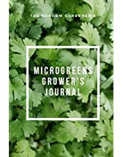 Microgreens Grower's 6x9 Lined Journal/Notebook-Cilantro