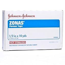J & J Zonas Porous Tape 1/2\