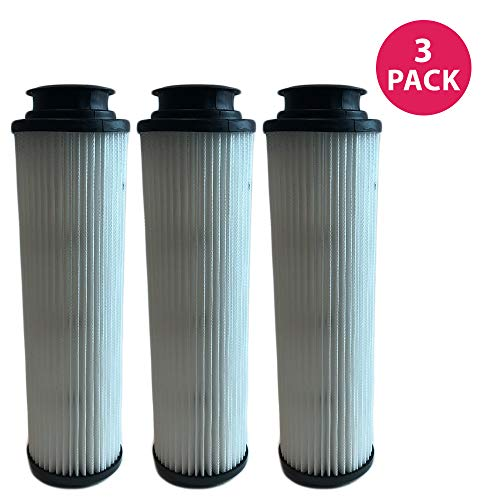 Vacuum Filter 40140201 Replacement Hepa (Think Crucial 3 Replacements for Hoover Windtunnel Bagless HEPA Style Filter Fits Empower & Savvy, Compatible With Part # 40140201, 43611042 & 42611049, Washable & Reusable)