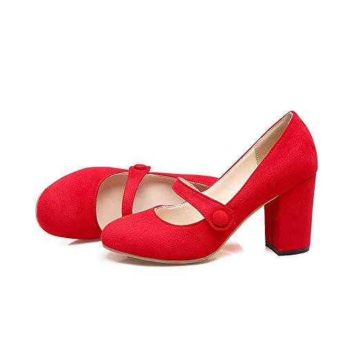 Sandali Red Donna An Dgu00540 Con Zeppa AWTT4q