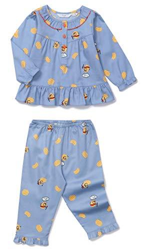 (Orcite Girls Kids Long Sleeve Pajama Set 2Piece Sleepwear Nightwear pjs 2T-12years Yummy Potato 2-3T(34-39 inch / 29-35 Ibs))