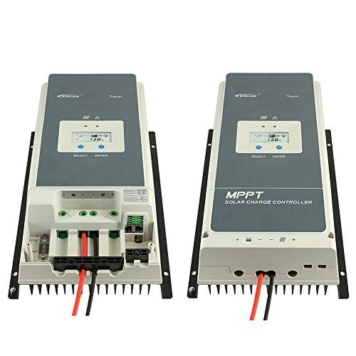 EPEVER 100a mppt Solar Charge Controller, 12v/24v/36v/48v Auto Max 150V 7500W Input Power fit for Sealed/Gel/Flooded(Tracer10415AN) by EPEVER (Image #4)