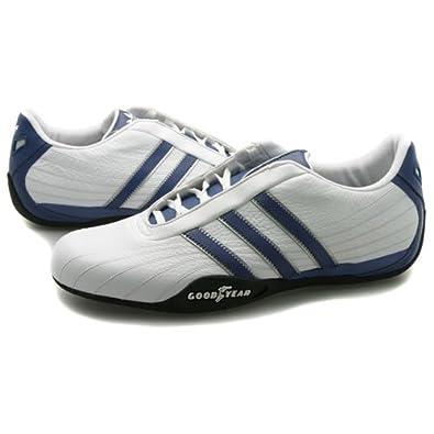 Adidas Goodyear Race Weiße Blau Turnschuhe Größe EU 46