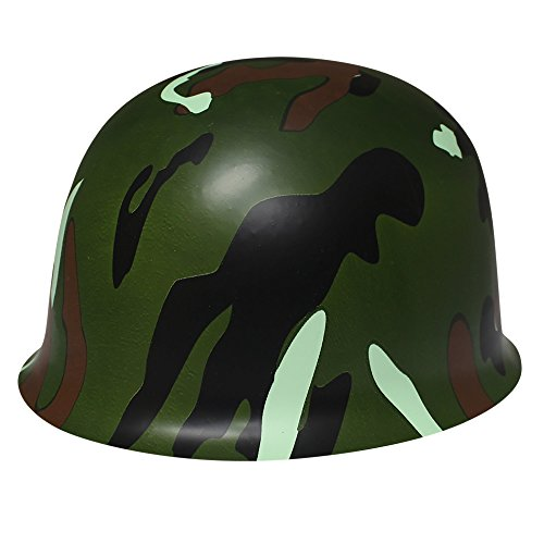 Camouflage Novelty Helmet-12 Pack]()