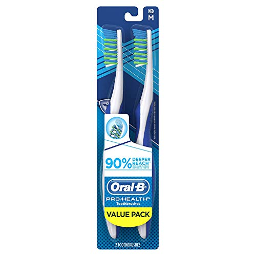 Oral-B Pro-health Superior Clean Manual Toothbrush Value Pack, Soft, 2 Count